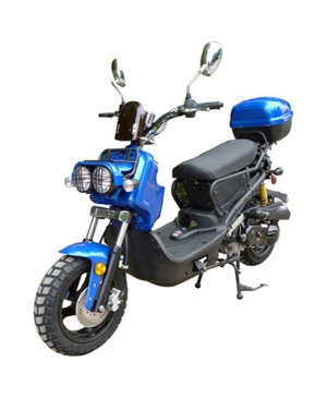 "150cc MC-22Y-150 Sports Moped Scooter, 12"" Aluminum Wheel"